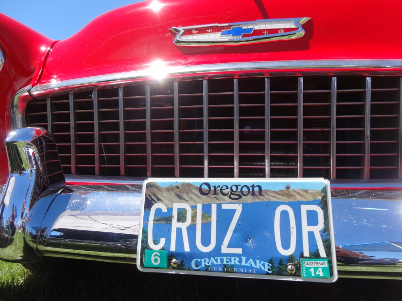 Cruz Oregon, sounds like a plan to me
