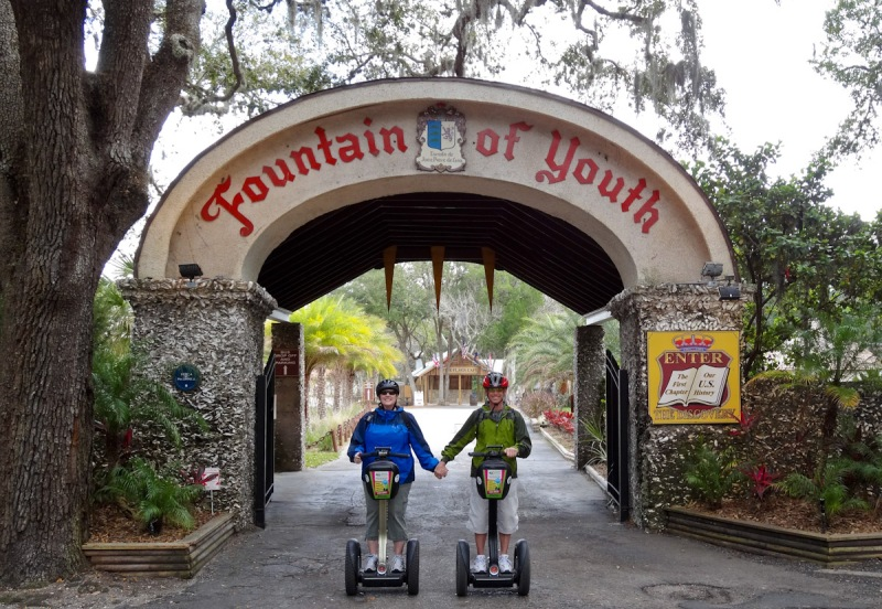 Fountain of Youth (didn't work),  St. Augustine