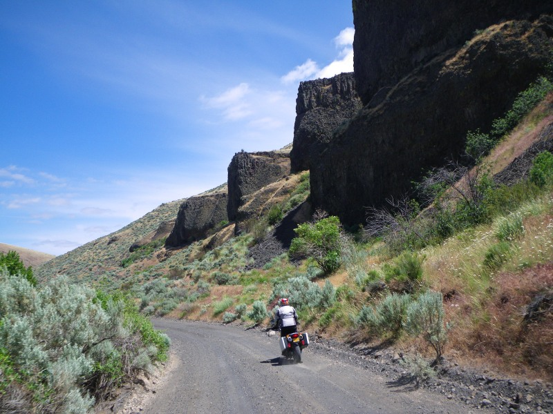 Cool rock formations, fun road, what more can you ask for?