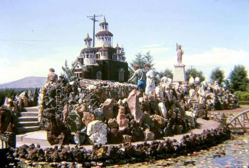 Vintage photos are courtesy of Friends of Petersen Rock Garden's Facebook page.