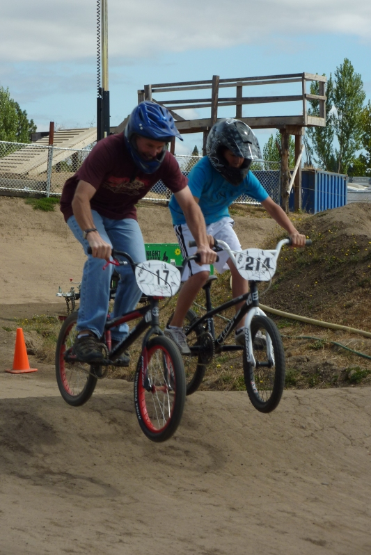 BMX rental prices were cheap, and kids and adults all had a great time out on the track.