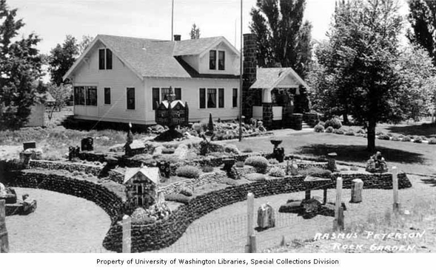 Vintage photos are courtesy of Friends of Petersen Rock Garden's Facebook page.