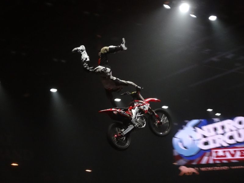 Nitro Circus was full of unbelievably awesome talent.