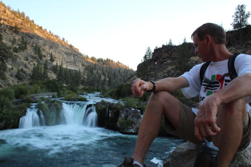 Mike at Steelhead Falls