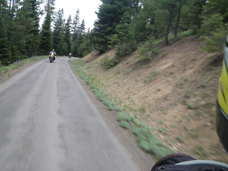 Gravel back country between Condon and John Day