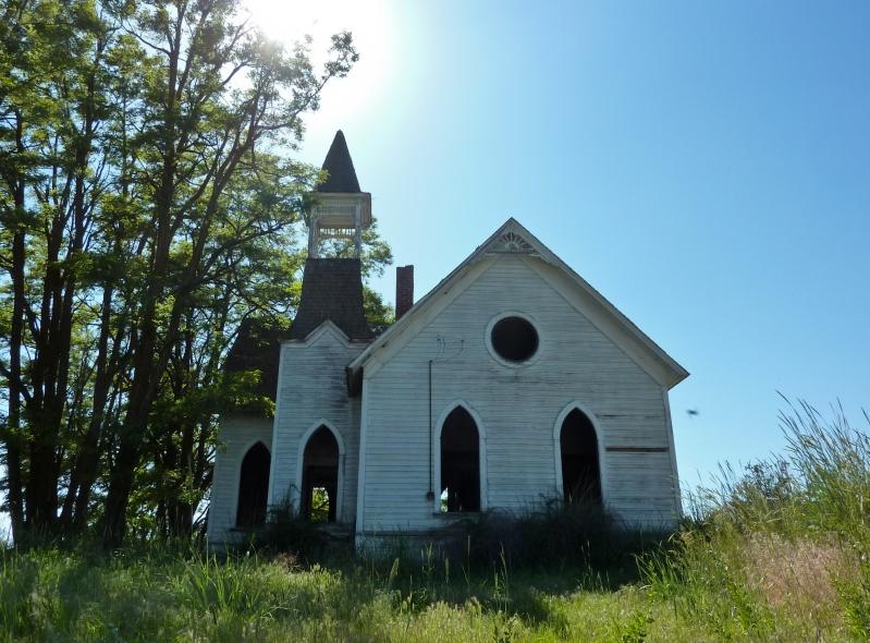 Abandoned church in Condon Oregon