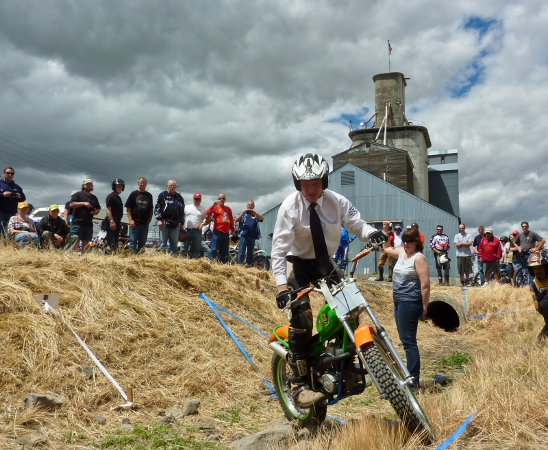 Hodaka Days Trials event, Athena Oregon