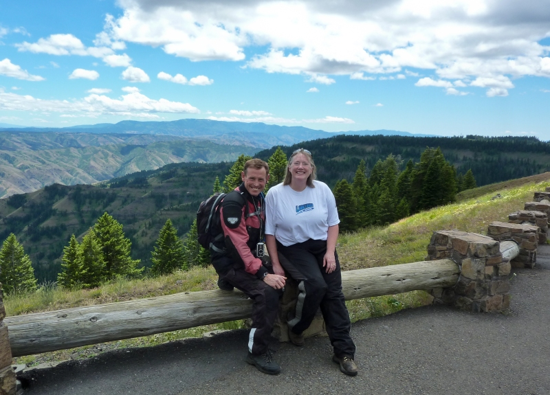 Hells Canyon overlook