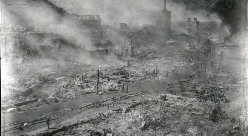 The Big Burn of 1923