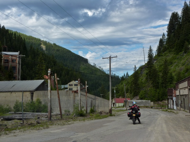"""And THIS is why we love adventure riding. It's for that moment when you bring the bike to a stop, put your foot down, shut off the engine and just say """"oh wow."""""""