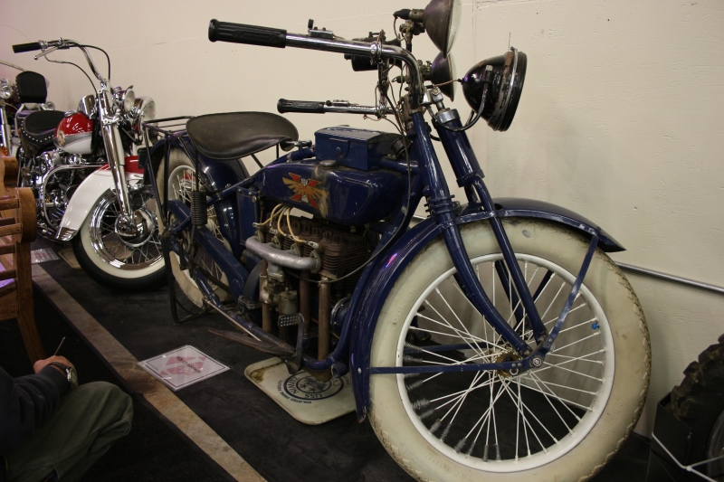A Henderson 4 that looks un-restored.