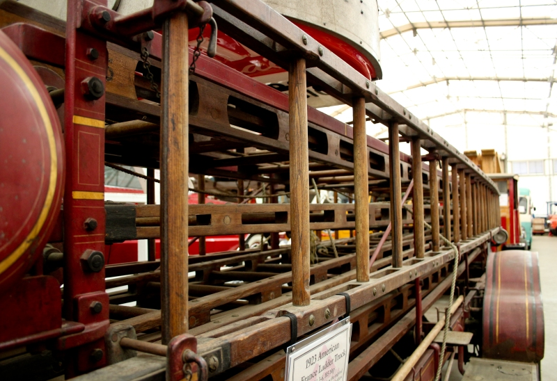 Old ladder truck with original ladders anyone? They've got 'em.
