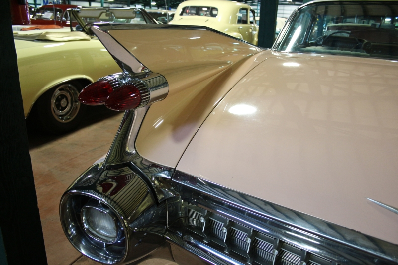 Fins and chrome.