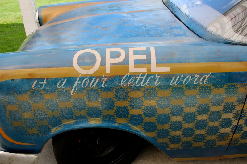 Opel, it's a 4-letter word. Our family owned an Opel once. It's probably the main reason I avoided learning to drive until I was 17.