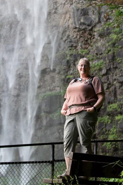 Watson Falls on Hwy 138 in Oregon.