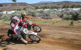 Crooked River Ranch Steel Stampede Vintage Motorcycle Race