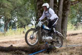 Oakland Oregon Vintage Weekend Trials