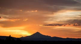 Mount Jefferson summer sunsets are the best!