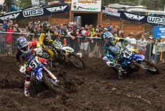 AMA National Motocross races at Washougal were a little muddy this year.