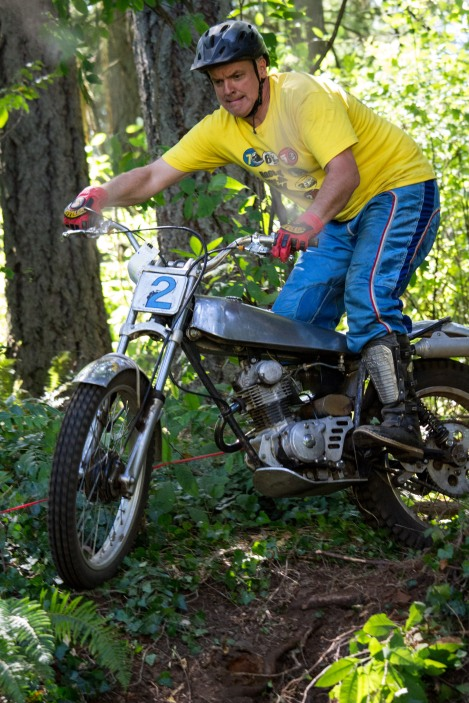 AHRMA Vintage Trials in Tacoma Washington